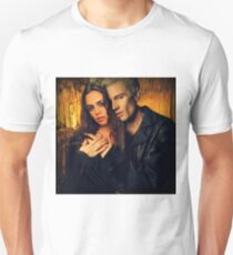 Spike and Faith Lehane - Buffy the Vampire Slayer Unisex T-Shirt
