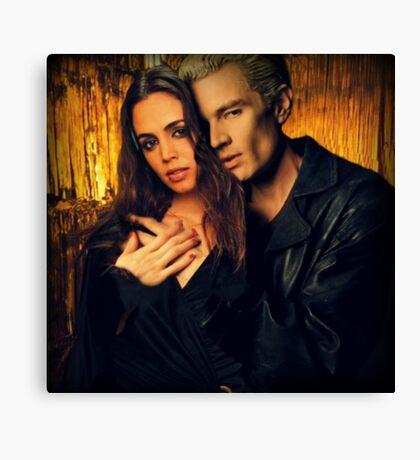 Spike and Faith Lehane - Buffy the Vampire Slayer Canvas Print