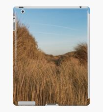 Grass blowing in the wind iPad Case/Skin