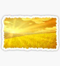 Golden Plains Sticker