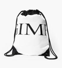 GIMP Drawstring Bag