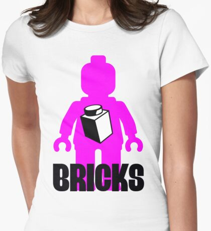 Minifig with Brick T-Shirt