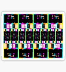 "COLOUR ""80s cassette #01"" Sticker"