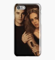 Xander Harris and Faith Lehane - Buffy the Vampire Slayer iPhone Case/Skin