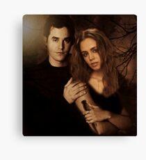 Xander Harris and Faith Lehane - Buffy the Vampire Slayer Canvas Print