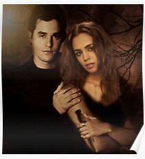 Xander Harris and Faith Lehane - Buffy the Vampire Slayer Poster