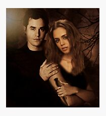 Xander Harris and Faith Lehane - Buffy the Vampire Slayer Photographic Print
