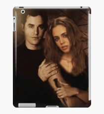 Xander Harris and Faith Lehane - Buffy the Vampire Slayer iPad Case/Skin