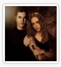 Xander Harris and Faith Lehane - Buffy the Vampire Slayer Sticker