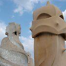 Expressive chimneys by LynOHara