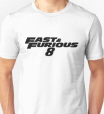 Fast and Furious 8 (Black) Slim Fit T-Shirt