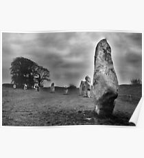 Avebury Wiltshire England Poster