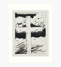 "Raymond Pettibon, ""This Cross Is Made Of Fat"", 1987 Art Print"