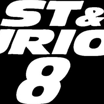 Fast and Furious 8 (White) by GlennStevens