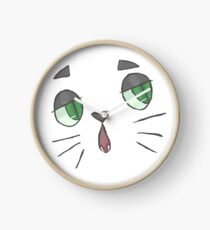 Le Ennuyé Chat Clock