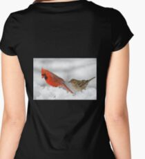 Follow the leader... Women's Fitted Scoop T-Shirt