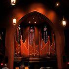 Chapel Organ in Color by MrsBuden