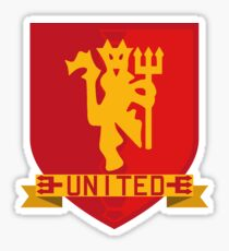 Manchester United Shield Sticker