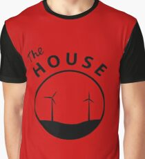The HOUSE - Black Logo Graphic T-Shirt