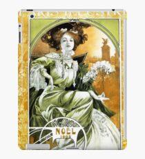 "Alphonse Mucha Nouveau Art ""Noel"" iPad Case/Skin"