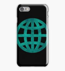 Green Globe iPhone Case/Skin