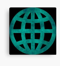 Green Globe Canvas Print