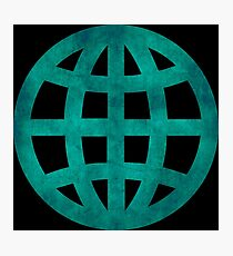 Green Globe Photographic Print