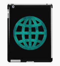 Green Globe iPad Case/Skin