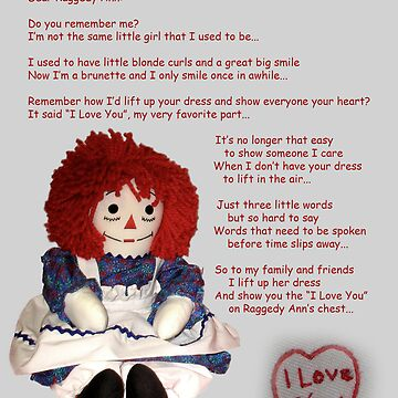 Dear Raggedy Ann: by Darlene