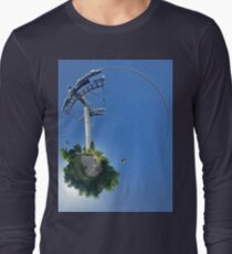Cable car at Floriade 2012 Long Sleeve T-Shirt