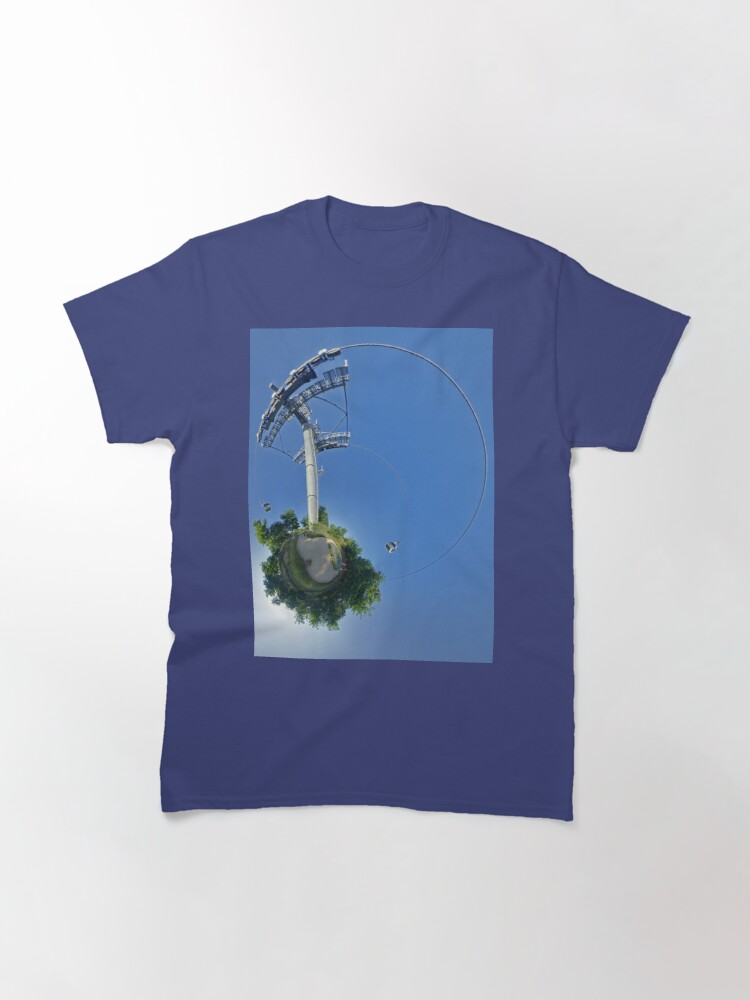 Alternate view of Cable car at Floriade 2012 Classic T-Shirt