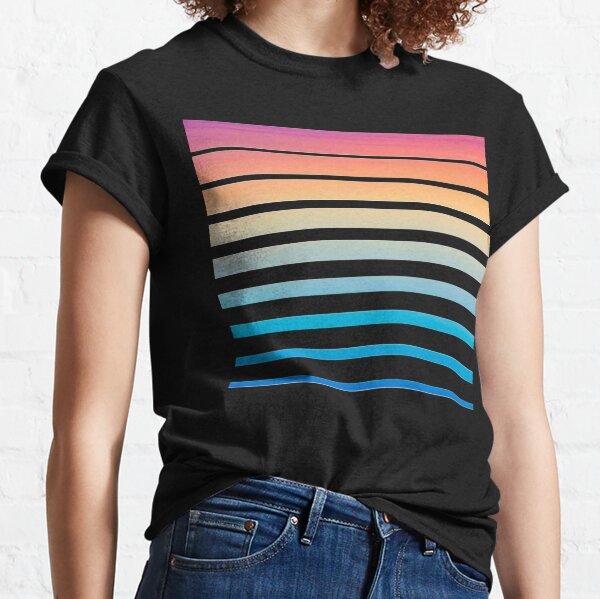 Sonnenuntergang der 1980er Jahre Classic T-Shirt