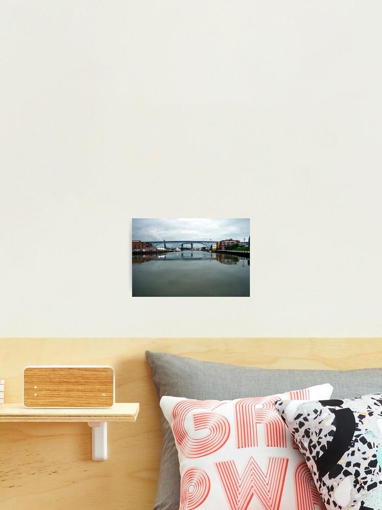 The Flats Cleveland Ohio Photographic Print By Bobdaveant Redbubble