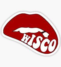 Wisconsin Lips Sticker
