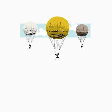 manychutes by rhinestone