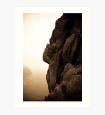 Rock of the Rock... Art Print