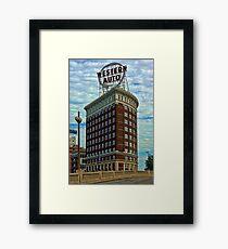 Western Auto Building - Kansas City Framed Print