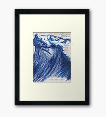 RAYMOND PETTIBON , Untitled (Going with the flow) , 2000 Framed Print