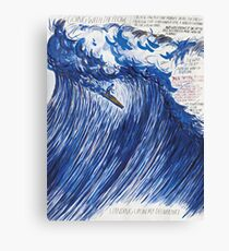 RAYMOND PETTIBON , Untitled (Going with the flow) , 2000 Canvas Print