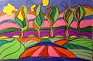 Carrara Trees #2 by Virginia McGowan