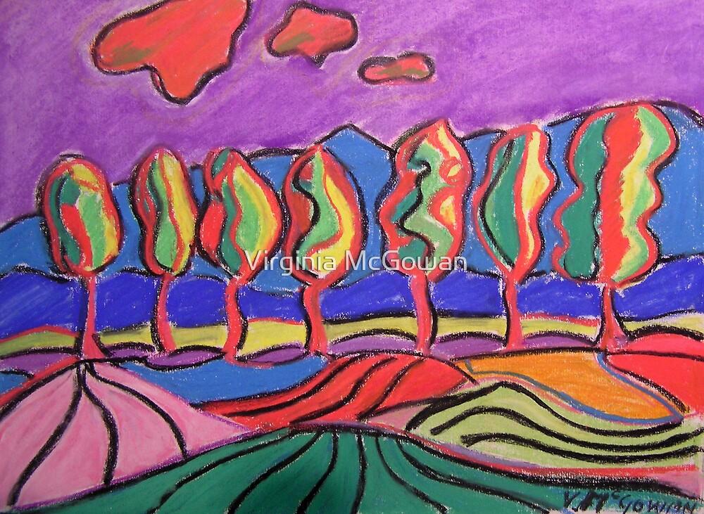 Carrara Trees #1 by Virginia McGowan