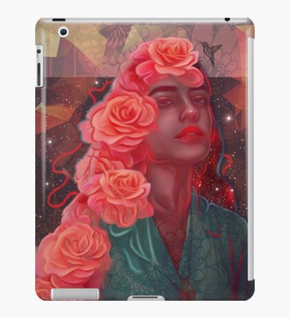Flower spell iPad Case/Skin