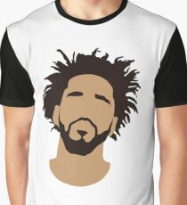 J Cole Silhouette Graphic T-Shirt