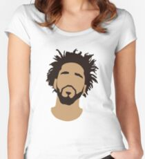 J Cole Silhouette Women's Fitted Scoop T-Shirt