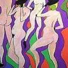 Jazz Dancers #4  by Virginia McGowan
