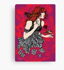 'Once upon a time there was Florence' (2) Canvas Print