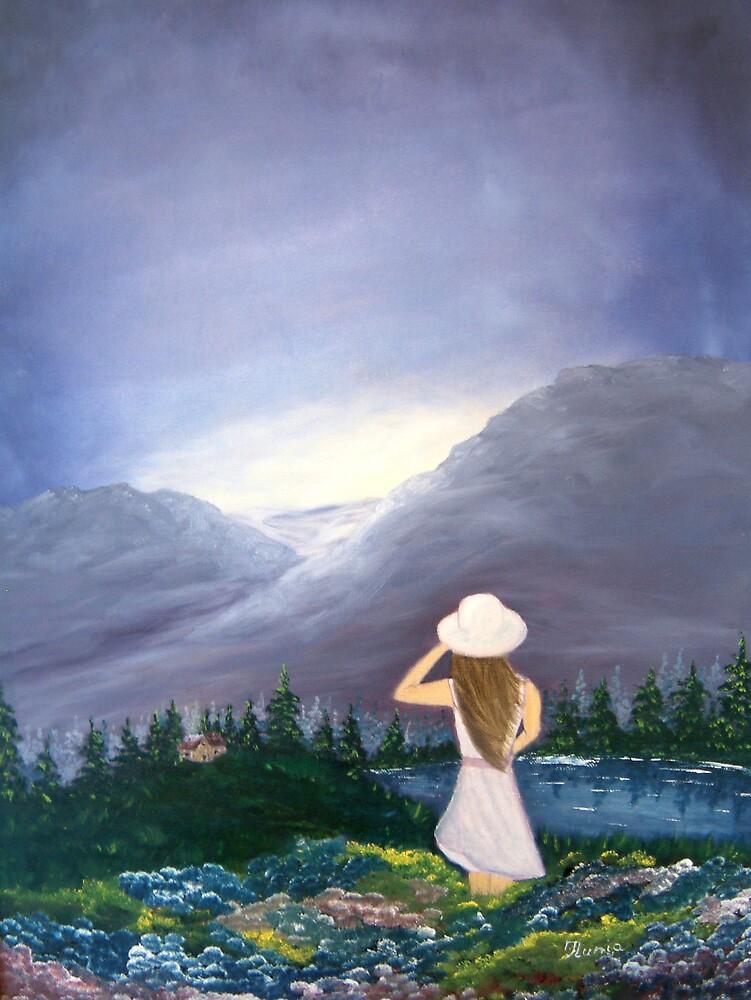 Mystery Girl by Ilunia Felczer