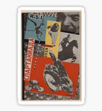 Gustav Klutsis - Moscow Spartakiad Photomontage (1928) Sticker