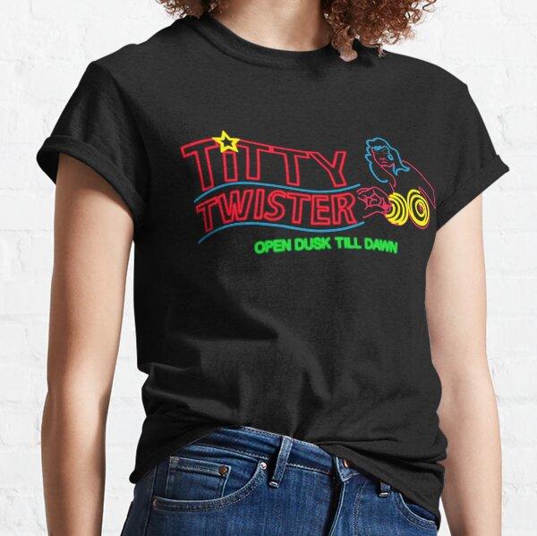Titty Twister - Neon Revamped HD Classic T-Shirt