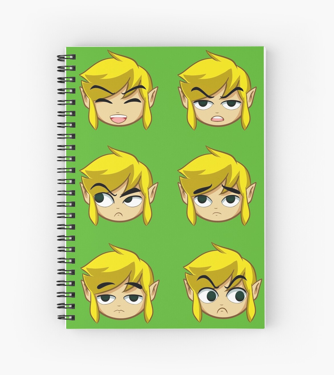 Toon Link Expressions\
